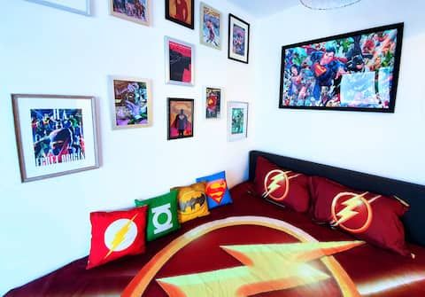 Geek BnB -  1 to 4 guests close to metro