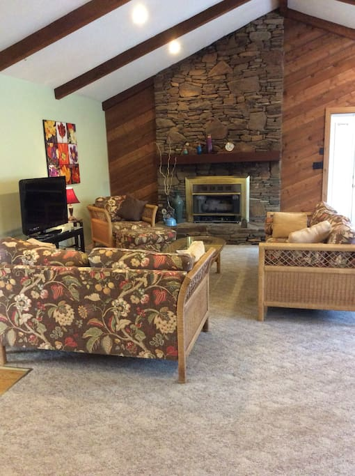 Very large family room.