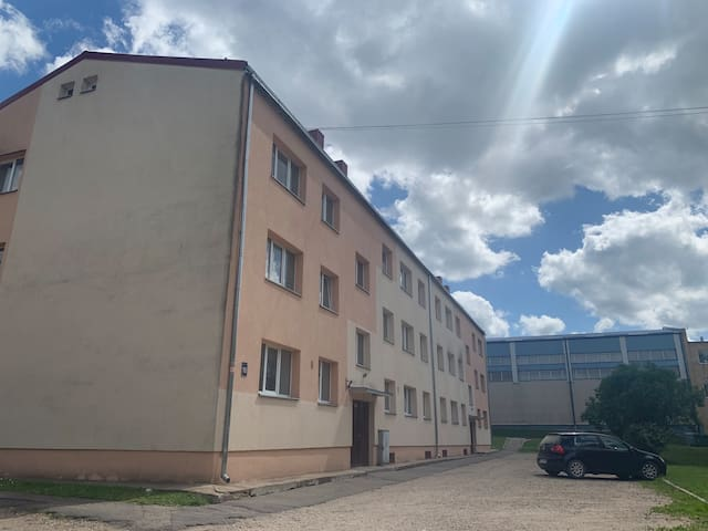 One bedroom apartment near Cēsis old town