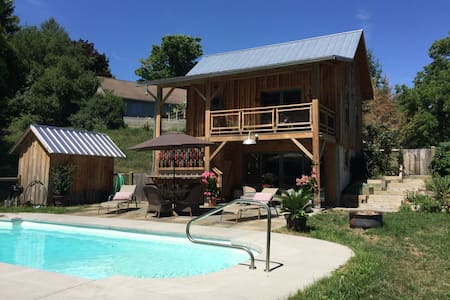 Orchard & Flower Farm Cottage - Newfield - Cabin