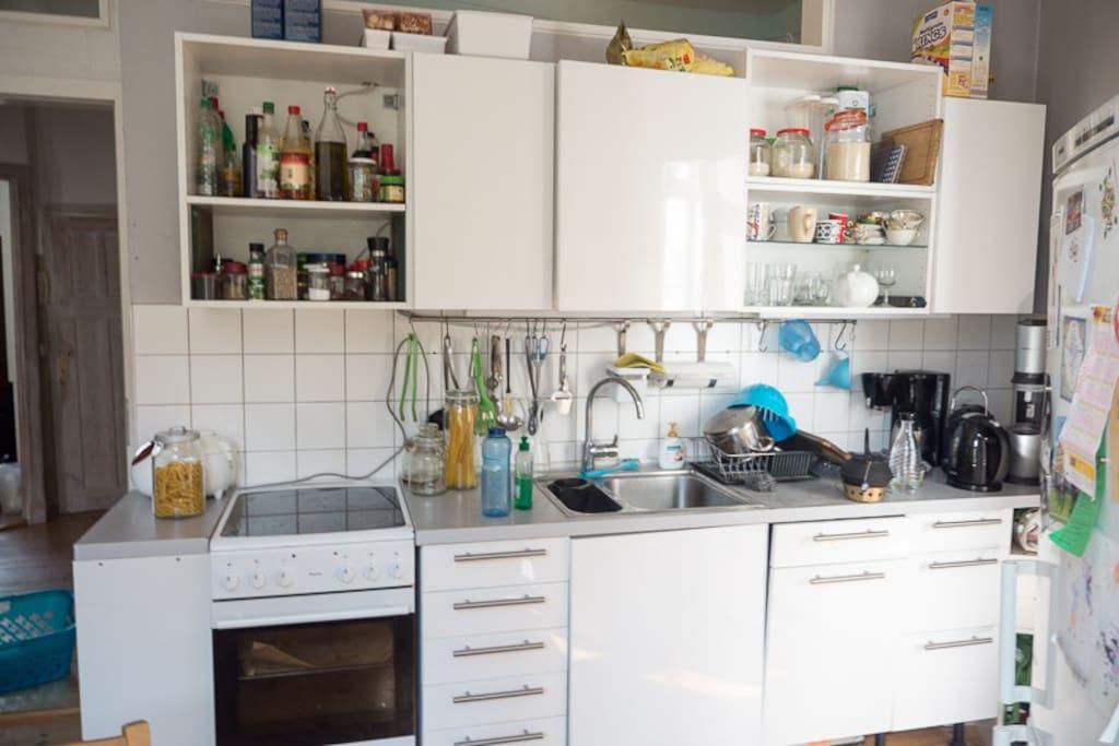 Totally Stocked Kitchen