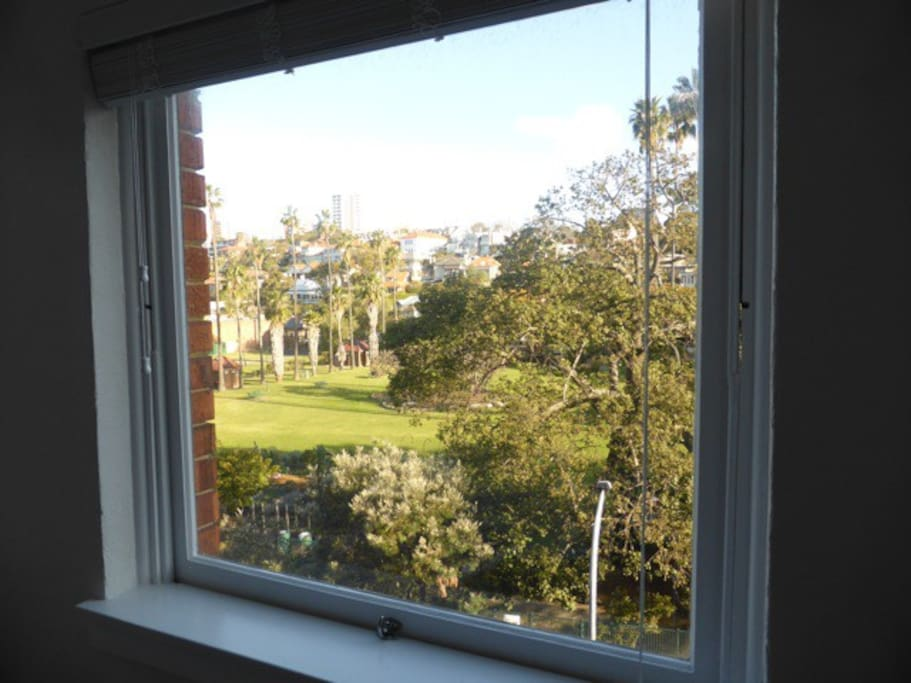 Milsons Park from bedroom