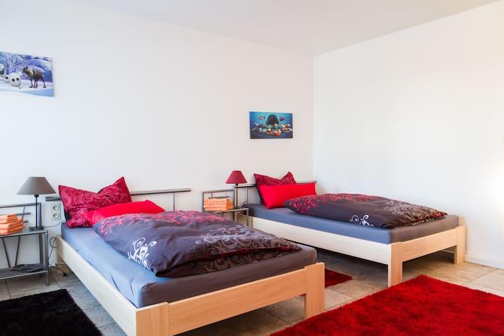Ferienwohnung Sonnenhalde - Illmensee - 아파트