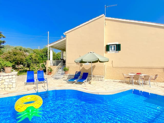Villa Olga Kassiopi with private pool