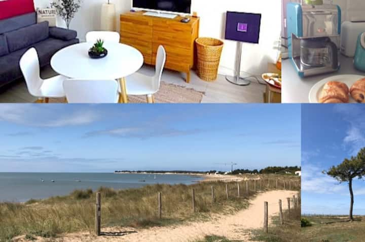 One bedroom design at the beach Noirmoutier Island