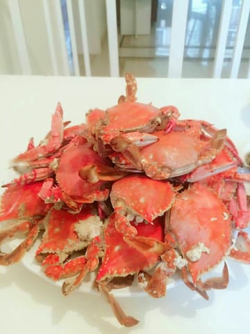 大连海边的家~有新鲜的海鲜可以买回家自己做来吃,附近有大海、沙滩、温泉、自然风景、军港。 - Dalian - Wohnung