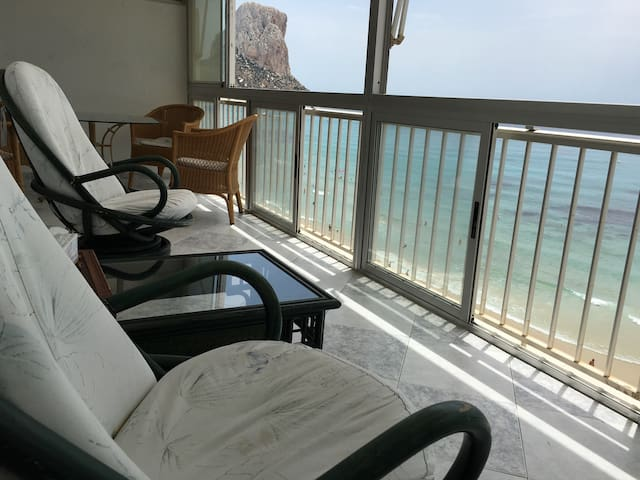 The best location, 10m to the beach - Calp - Appartement