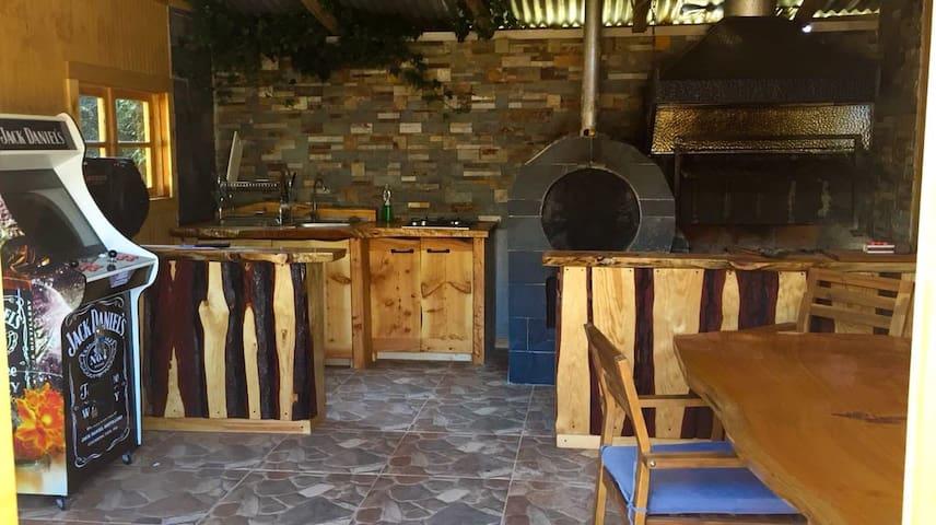 cabañas central 2. Ambiente Familiar.