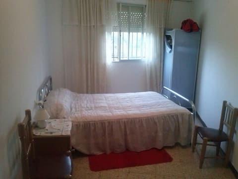Tweepersoonskamer voor toeristen
