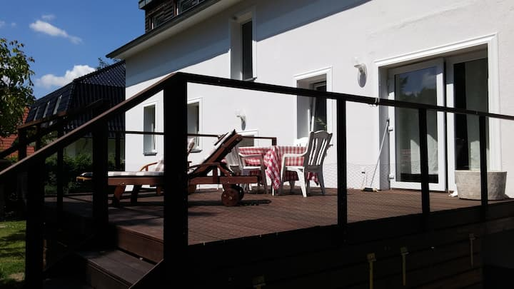 Ferienhaus vor Berlin für gehobene Ansprüche
