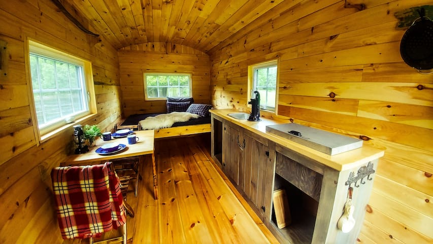 Shepherd's hut, Mont-Tremblant area. - Labelle - Hytte