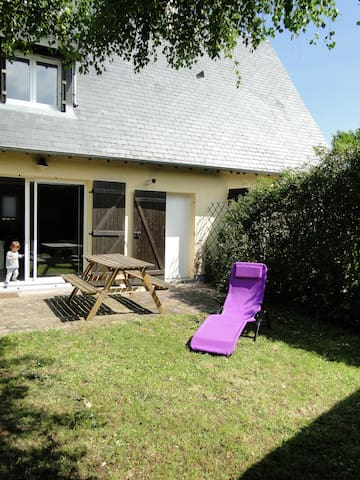 Mignon cottage avec jardin privatif - Cabourg - House