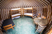 Yurt 4 in Rockies on Colo River at State Bridge