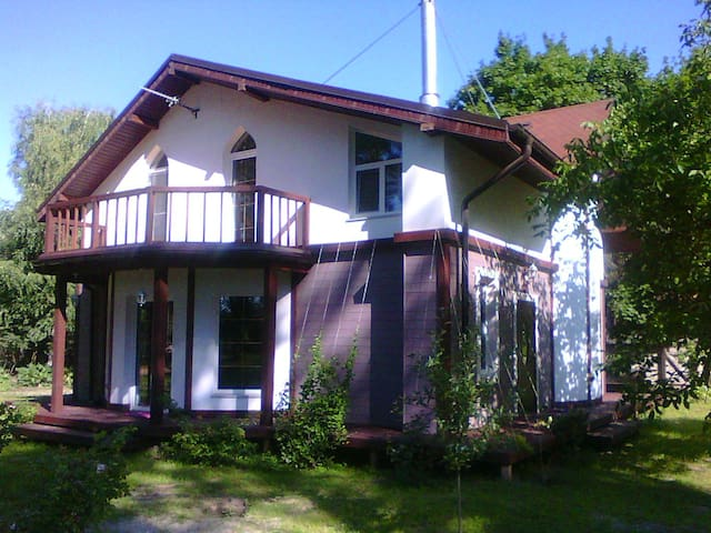 Cottage for Eurovision 2017, 40km from Kiev. - Poroskoten' - Talo