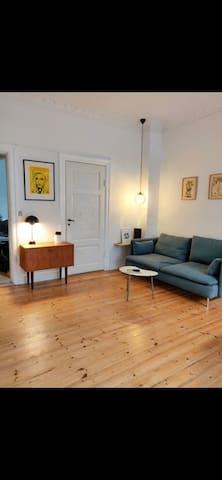 Nice Østerbro apartment, close to a city and park.