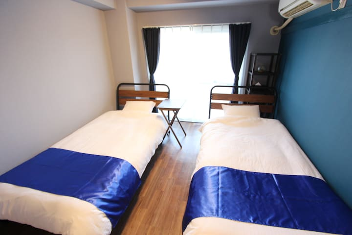 Indigo Twin Room