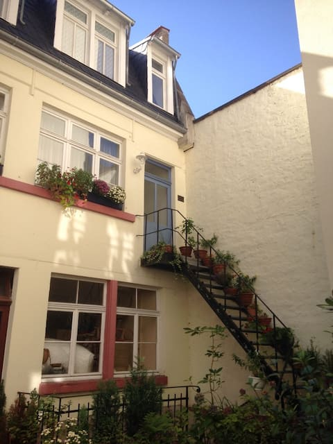 2 cozy rooms in Heidelberg's Neuenheim district