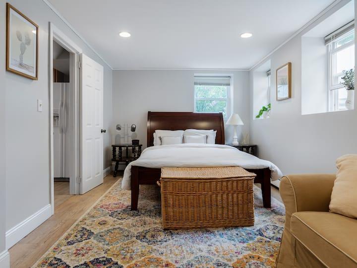 Explore Rozzi in private in-law suite w/ home gym