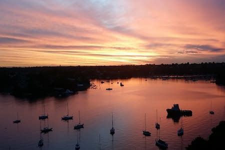 180° Water Front w/Sunset - Private Room in Sydney - Greenwich - 公寓