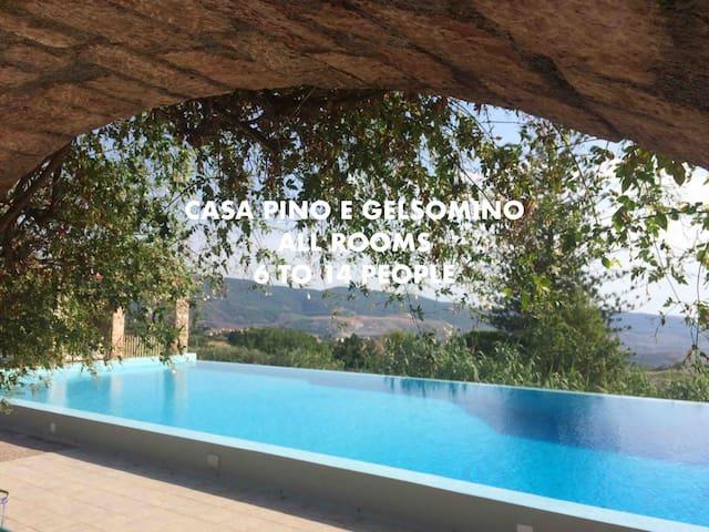 Room 'Giuseppe' at Casa Pino & Gelsomino