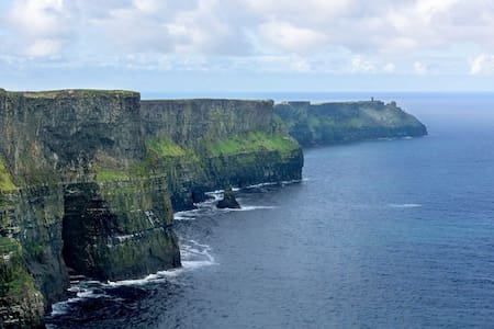Ocean Haven, Cliffs of Moher - Double Ensuite Room - Liscannor - Casa