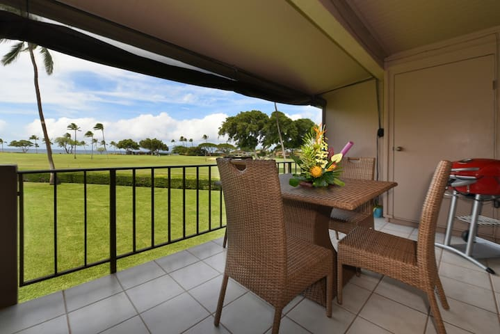 REMODELLED, prime OCEAN VIEW at Maui's #1 Kaanapali beach - J221