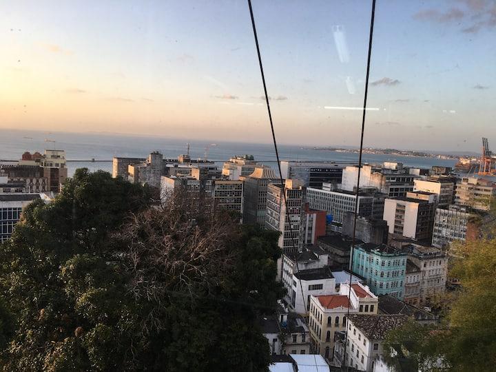 Vista da cidade baixa