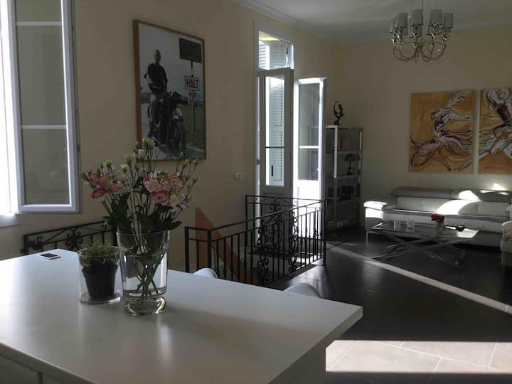 Garden apartment Beaulieu sur Mer