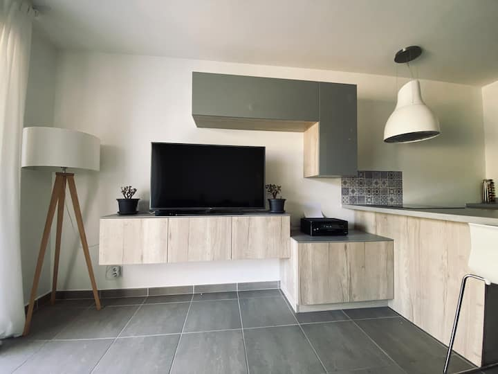 Magnifique T2, residence calme, proche commodités