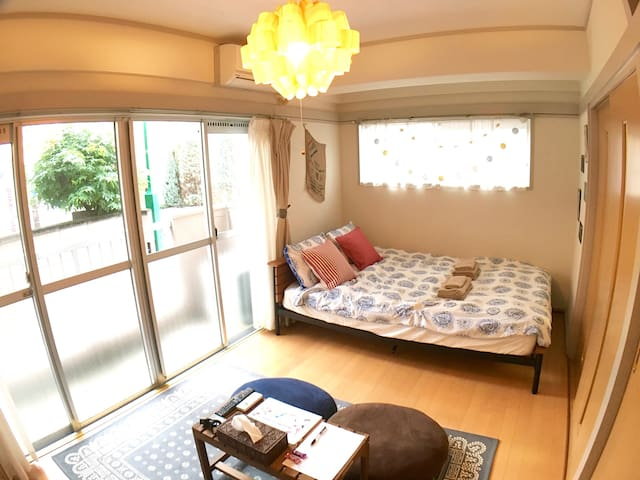 H6.Easy access to Shibuya,Shinjuku &even Yokohama! - Shinagawa-ku - Appartement