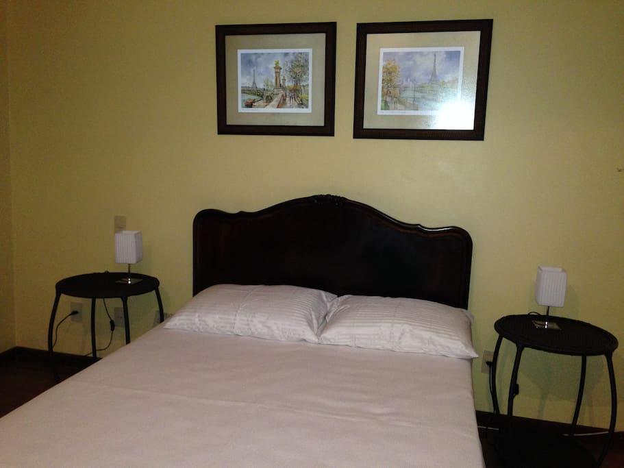 cama de casal suíte 1