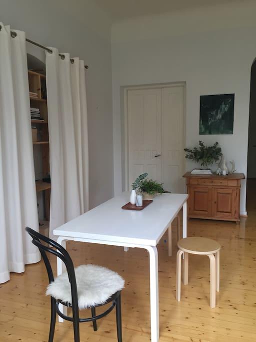 Bigger bedroon/ dining room