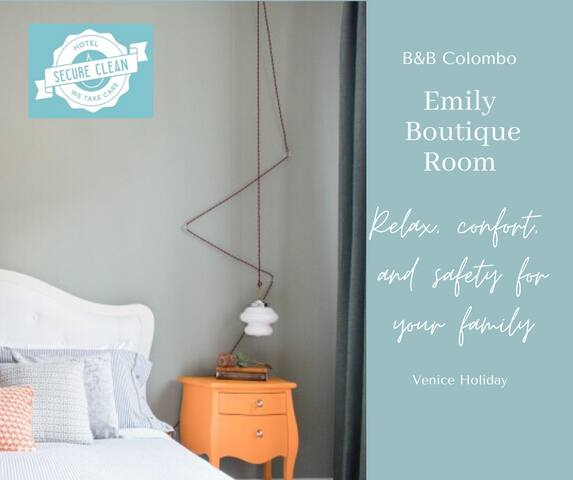 Emily Boutique room with Breakfast