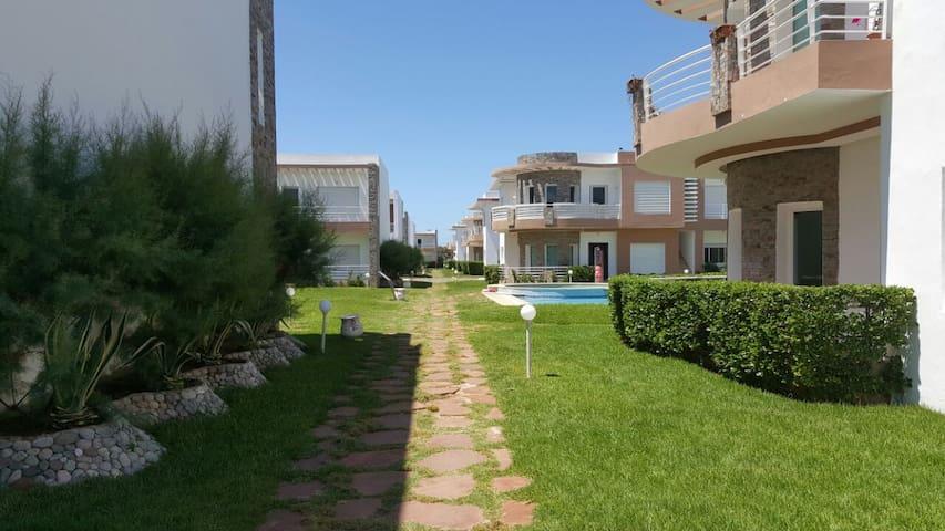 Résidence balnéaire à 30 Km de Casablanca - Sidi Rahal - Lakás