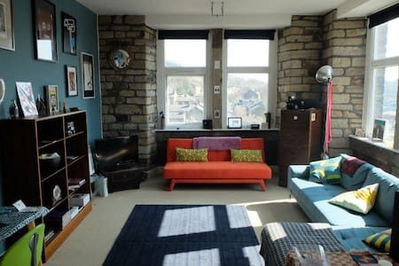 Artistic Mill Conversion Apartment - Huddersfield - Wohnung
