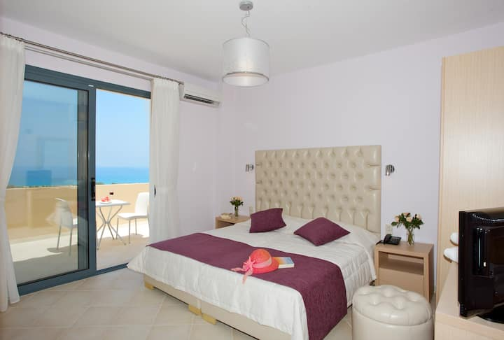 Carme Villas-1Bedroom Villa Private Pool & SeaView