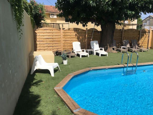 Le Jujubier - Gîte 6 pers avec piscine