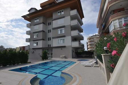 Fully furnished 1+1 for a rent in Tosmur/Alanya - Tosmur Belediyesi
