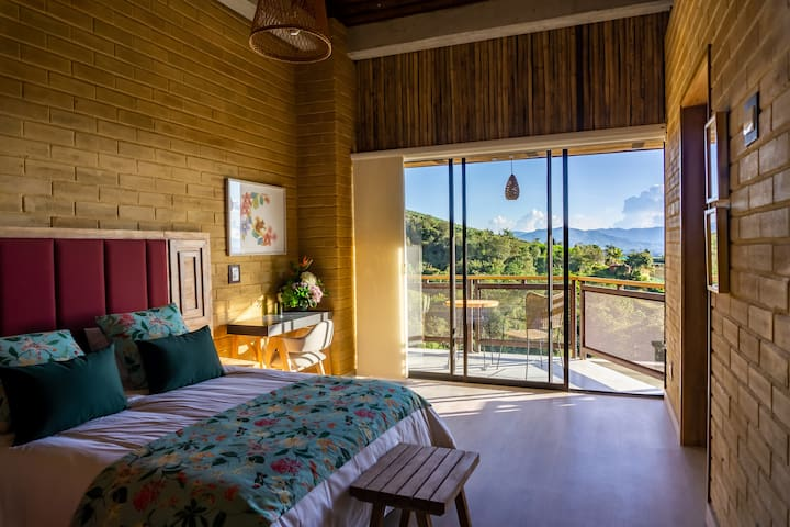 Deluxe Room in Cannúa Lodge with breakfast