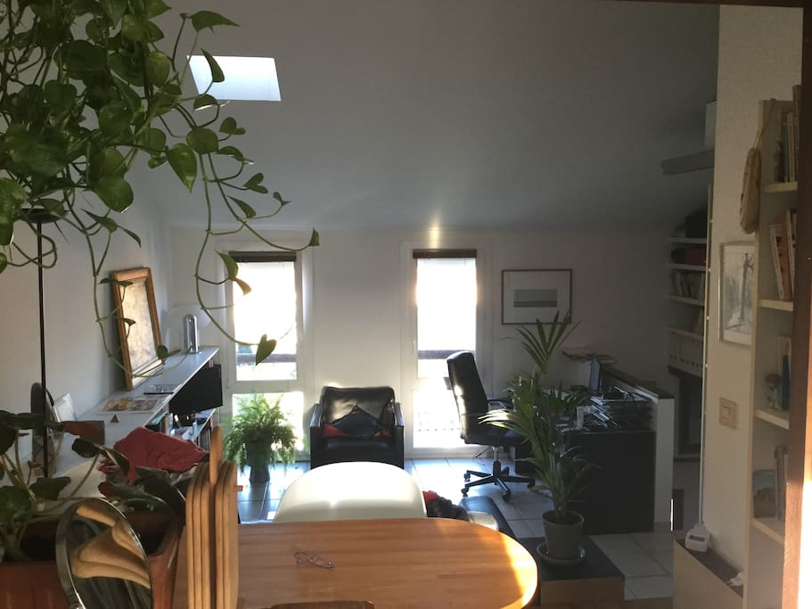 séjour (climatisé) 3° étage