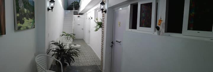 Habitación 2 en Casa Confort, Santiago de Cuba.