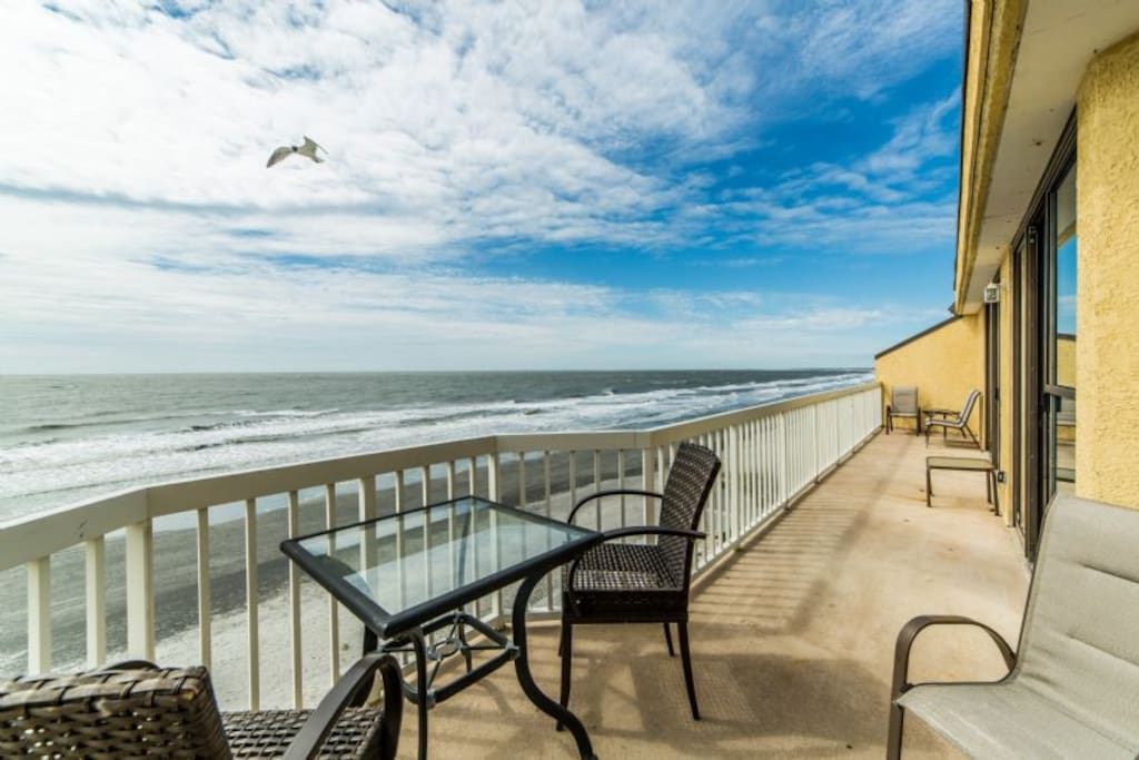 "Welcome to ""Atop Folly"" - Expansive Balcony"