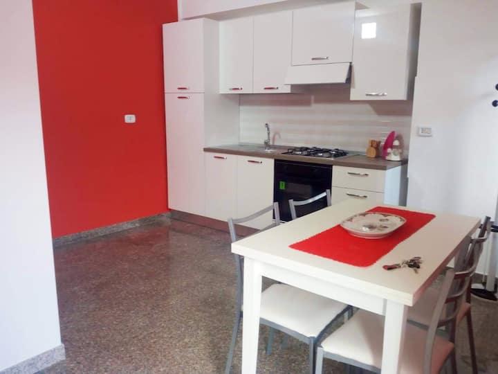 Apartamento de una habitación en Montegiordano, con WiFi - a 9 km de la playa