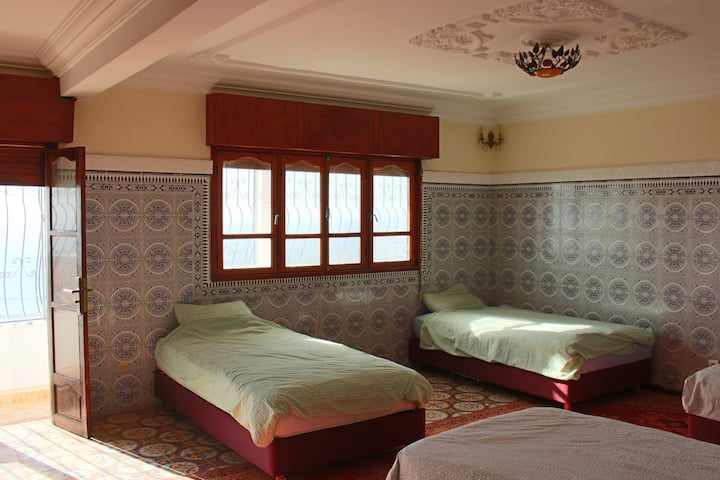 1 bed in 4 bed dorm in Click Surf Maroc Villa