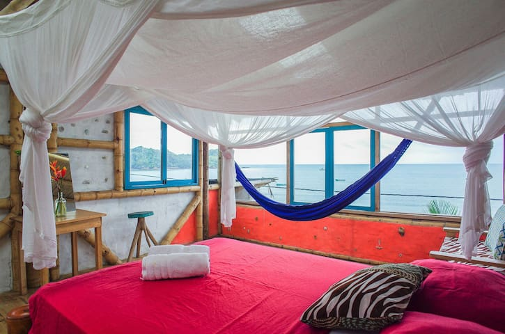 PUNTA DE ENCUENTRO - SUSPIRO - Penthouse Room with Panoramic Ocean View - 2nd Floor