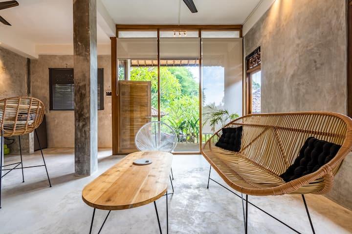 U1 - 1Bd Designer  Loft In perfect location Ubud