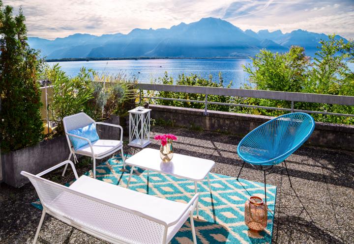 Beautiful Studio Lake View and Castle ⭐