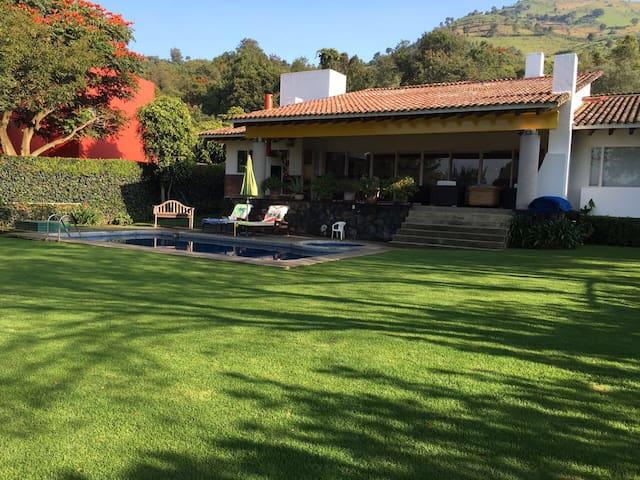 Casa San Ignacio. Excepcional. - Malinalco - Huis