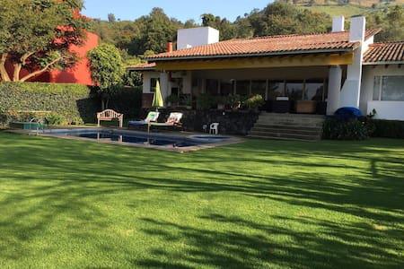 Casa San Ignacio. Excepcional. - Malinalco - House