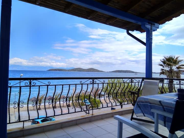 The Blue House on the Sea, Nea Peramos Kavalas